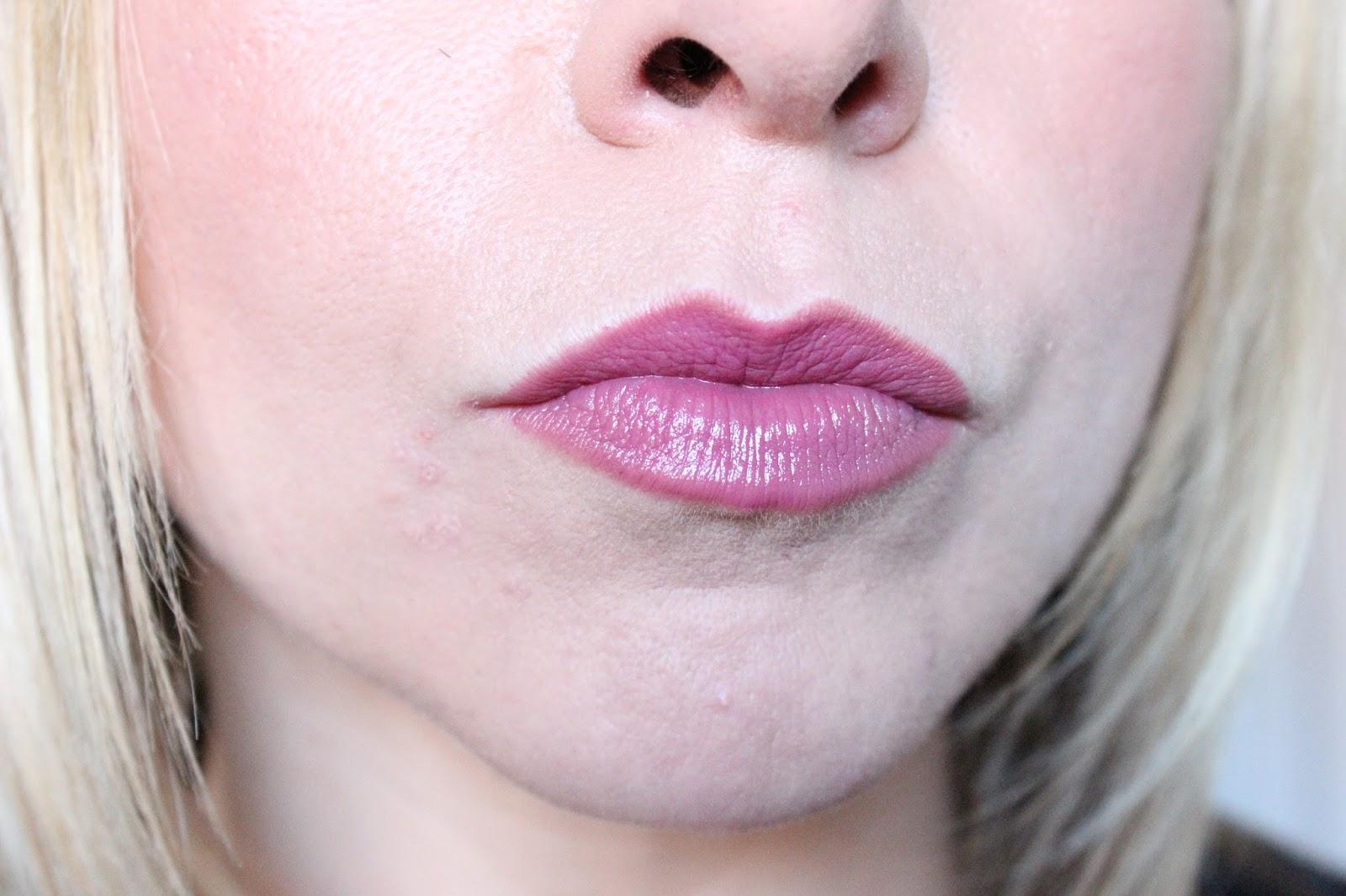Mac Plumful Lipstick and Mac Soar Lip Liner