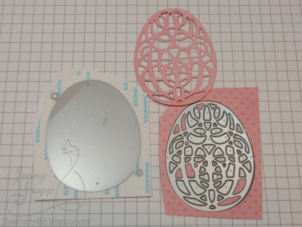 serendipity stamps blog tutorial glitter easter egg die cut card