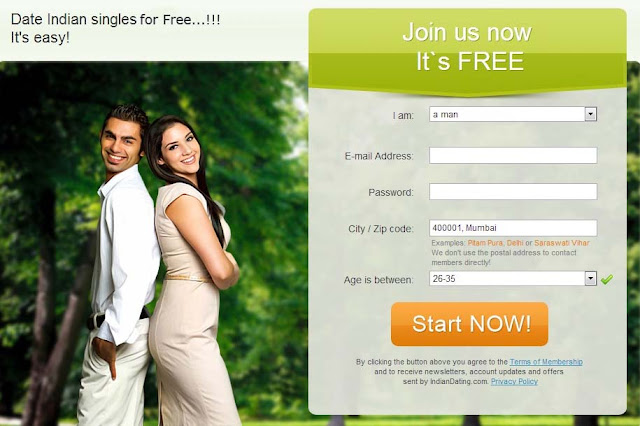 Indian cyber dating