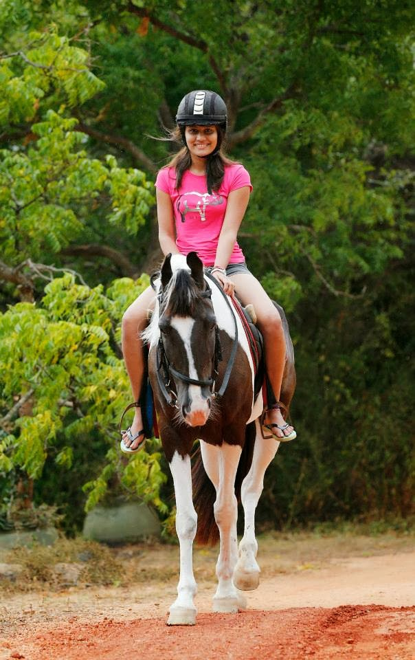 Oshadi Himasha horse ride