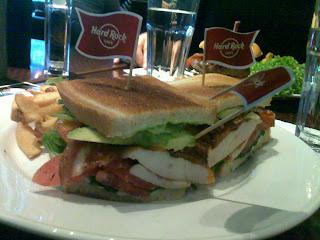 California Club Sandwich