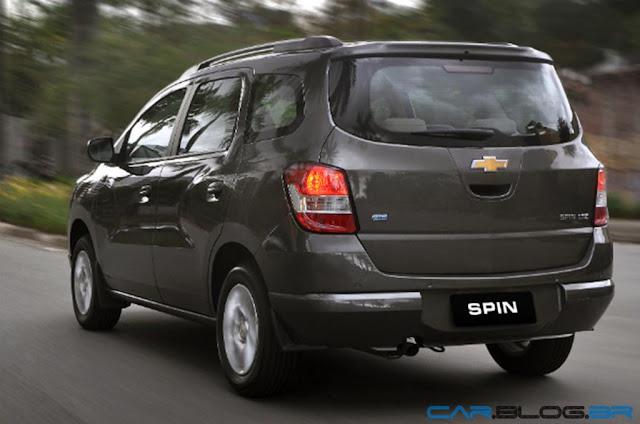 Chevrolet Spin LT 2013