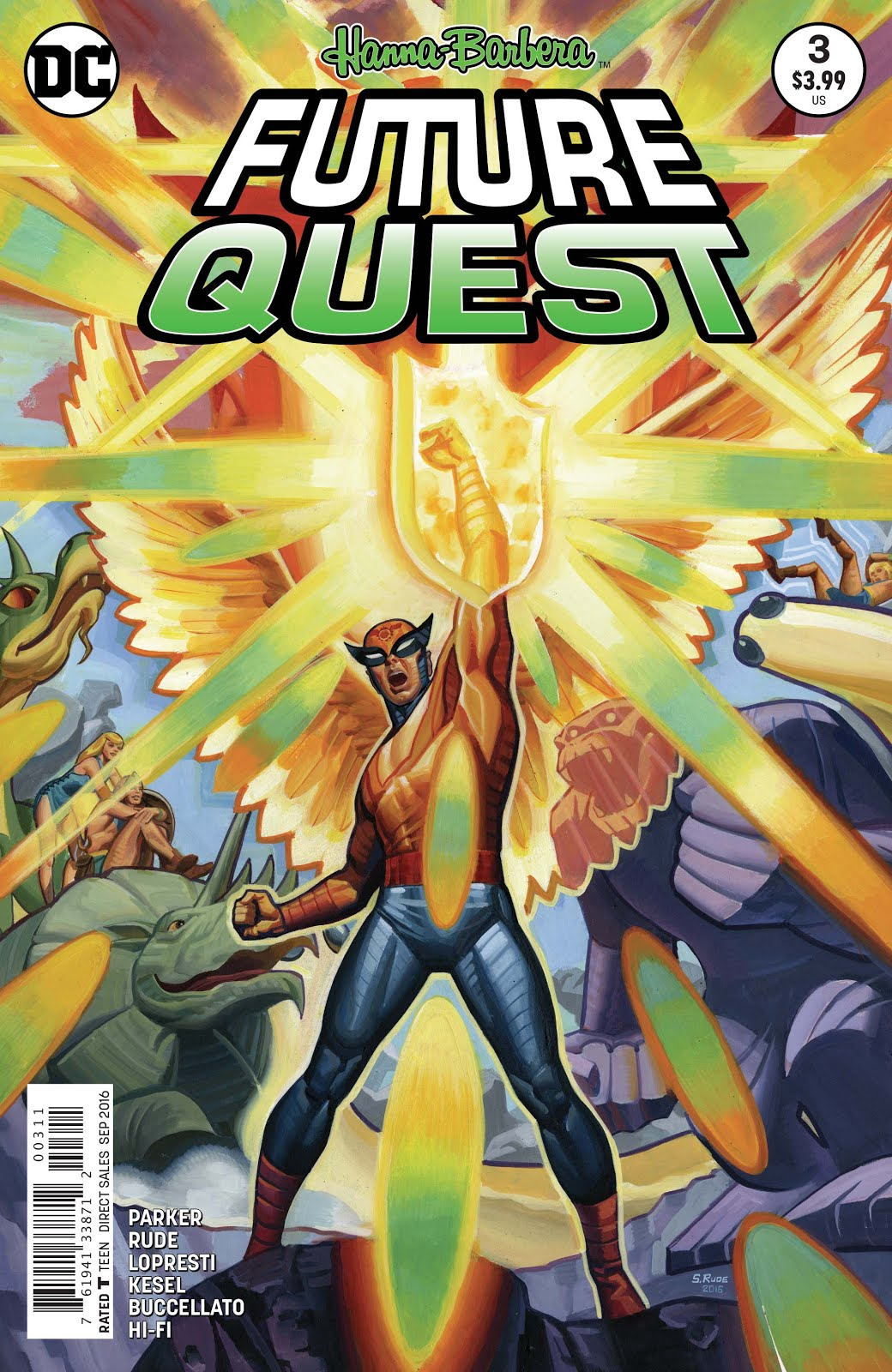 HANNA-BARBERA'S FUTURE QUEST
