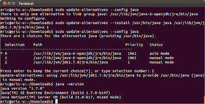 Install Java 1.7.0 on ubuntu 11.10