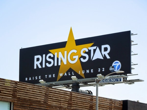 Rising Star season 1 billboard