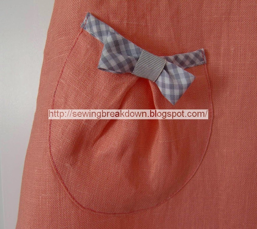 خياطة فستان بنت صغيرة