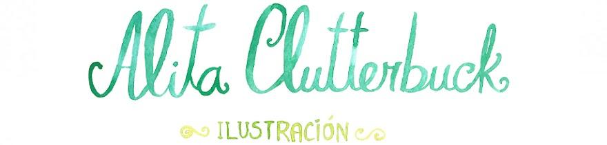 Alita Clutterbuck ilustración