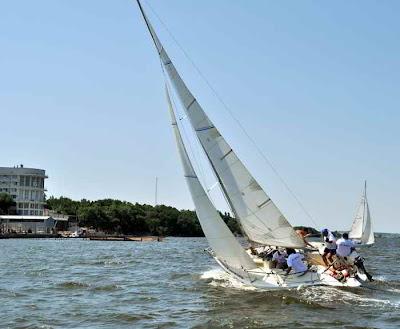 Фото Укринформ: яхты, регата