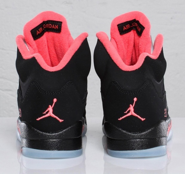 Black And Red Jordans For Girls Girls air jordan 5 retroJordans 5 Red And Black