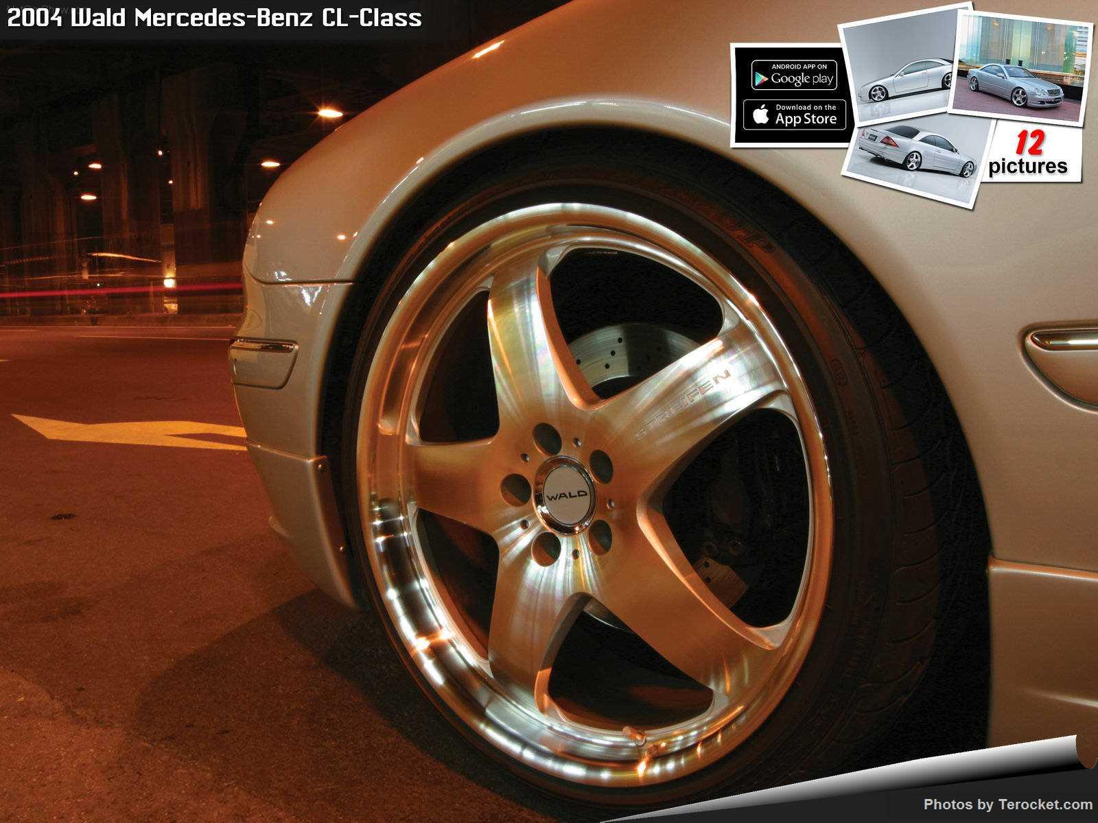 Hình ảnh xe độ Wald Mercedes-Benz CL-Class 2004 & nội ngoại thất