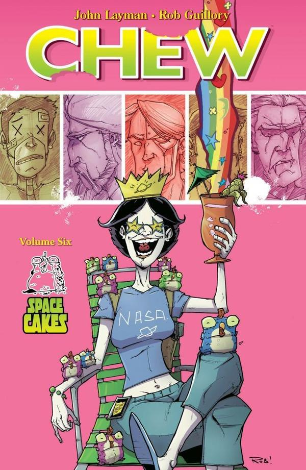 Review: Chew Volume 6 Space Cakes