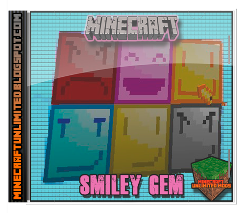 Smiley Gem Mod Minecraft