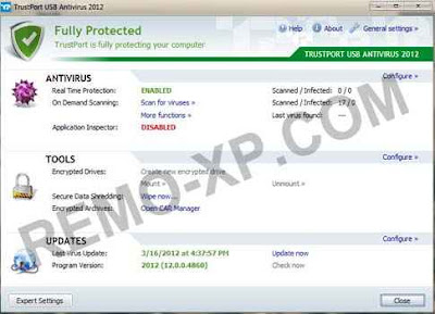TrustPort USB Antivirus 2012