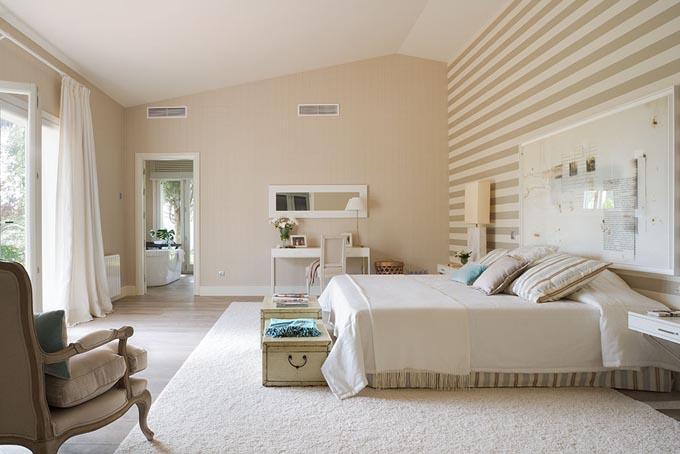 Tela papel y pintura dormitorios de verdad for Cuartos decorados azul