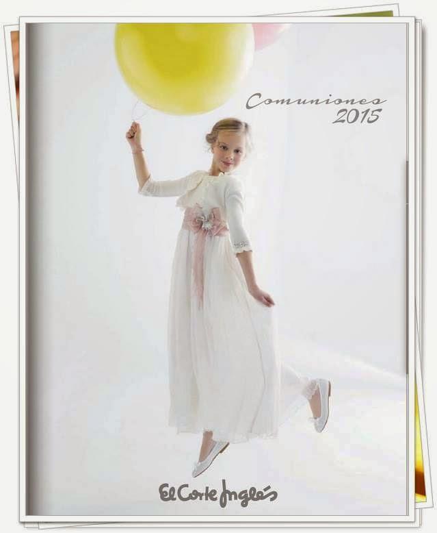 Vestidos y Trajes Comunión 2015 ECI