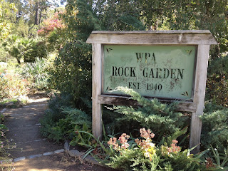 Falling in love with the WPA rock garden and Land Park