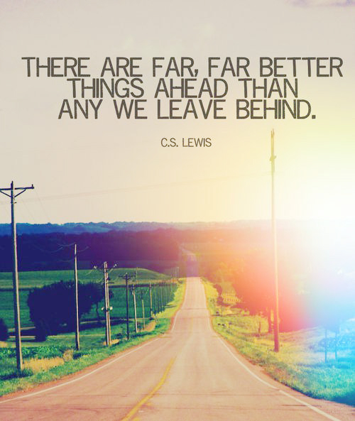 Far Far Better Things Ahead