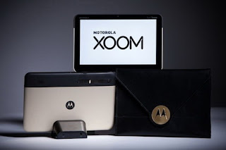 Gold Motorola Xoom tablet for the Oscars