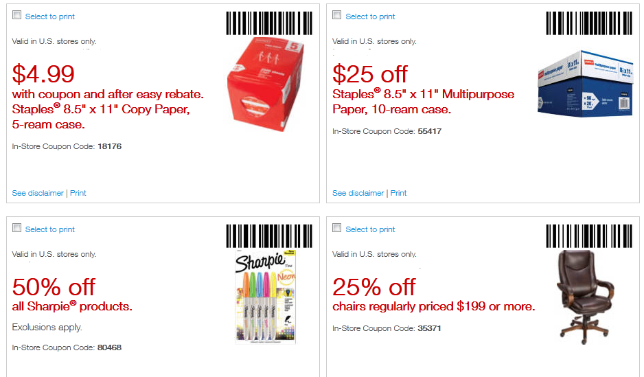 Staples monitor coupon code