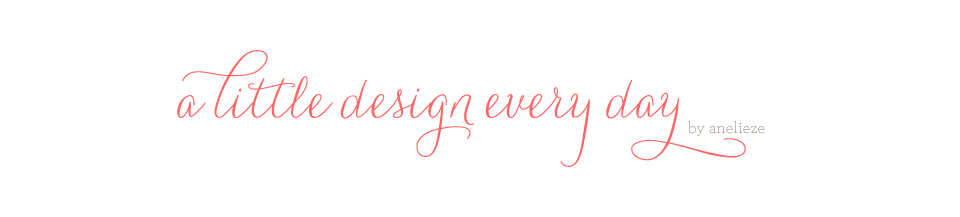 A Little Design Everyday | by Anelieze Castrejon