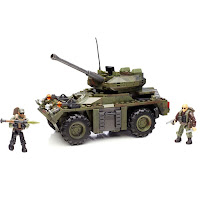 Bloco de montar Playset Mega Bloks Call of Duty Transporte Blindado