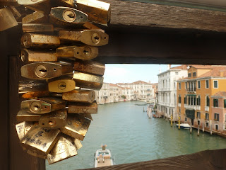 Love Locks On The Grand Canal, Venice, Italy | TheVillaHunter.com