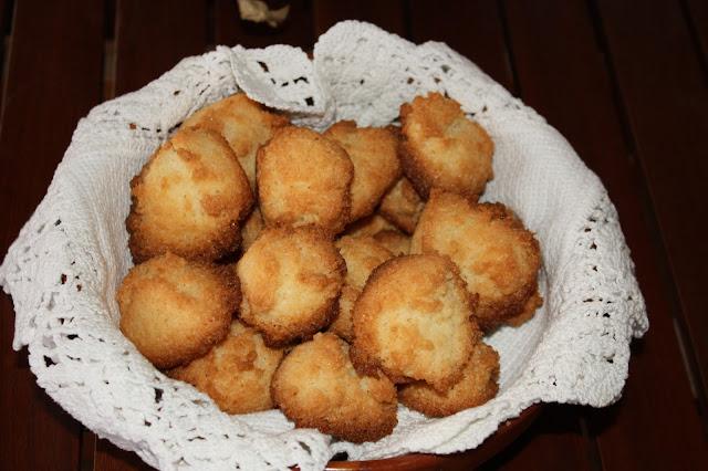 biscotti al cocco e presentazione abbattitore