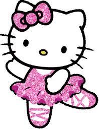 Gambar Hello Kitty Menari Balet Lucu Terbaru  Animasi Bergerak