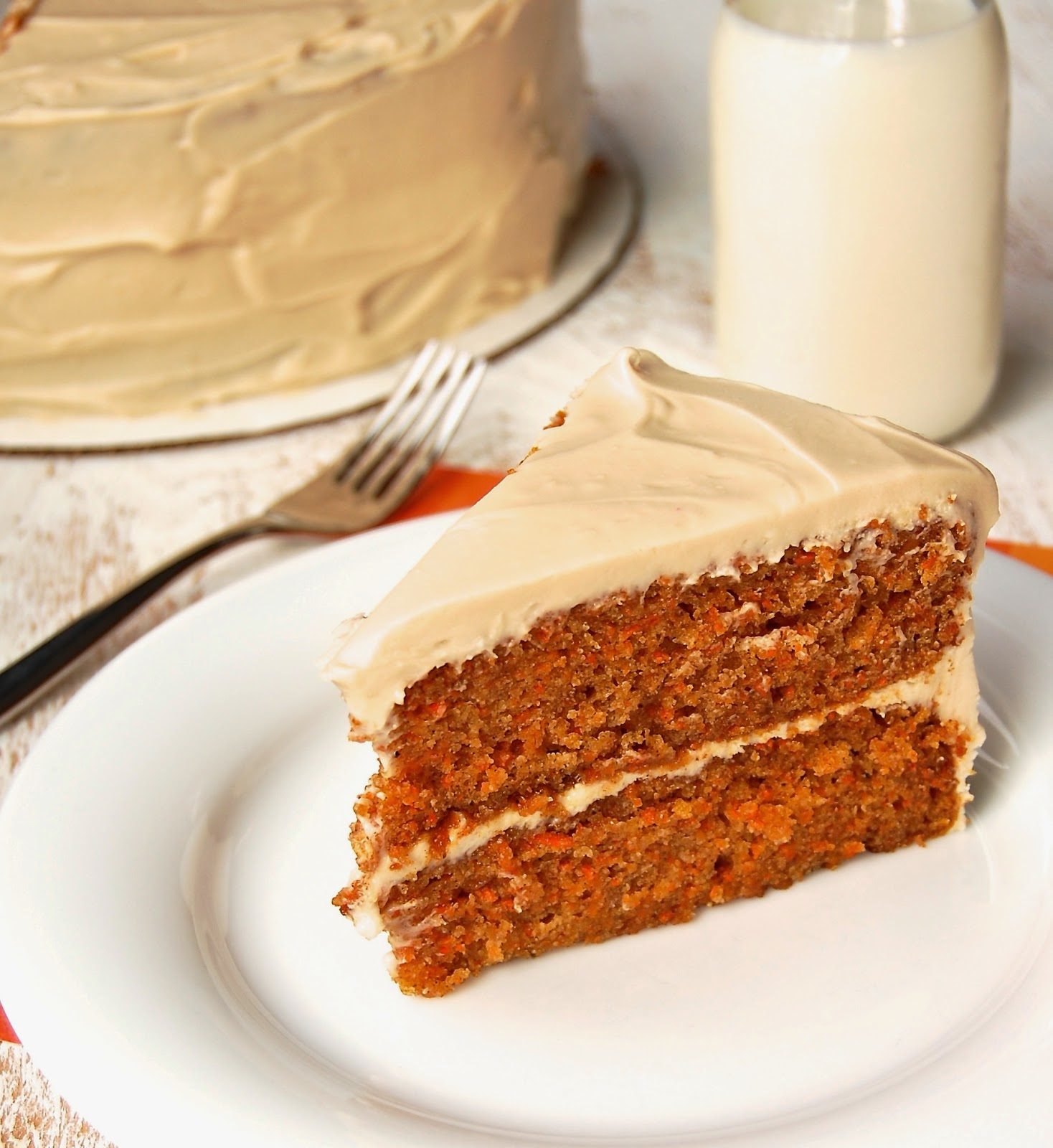 Much Kneaded: Gluten-Free Carrot Cake with Maple Cream ...