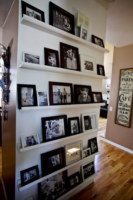 shelves picture display