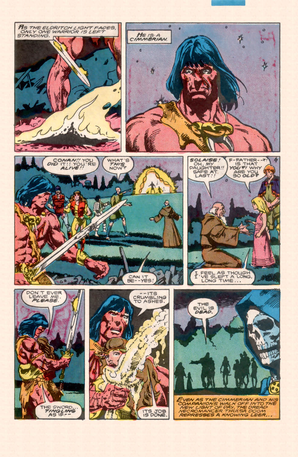 Conan the Barbarian (1970) Issue #200 #212 - English 39