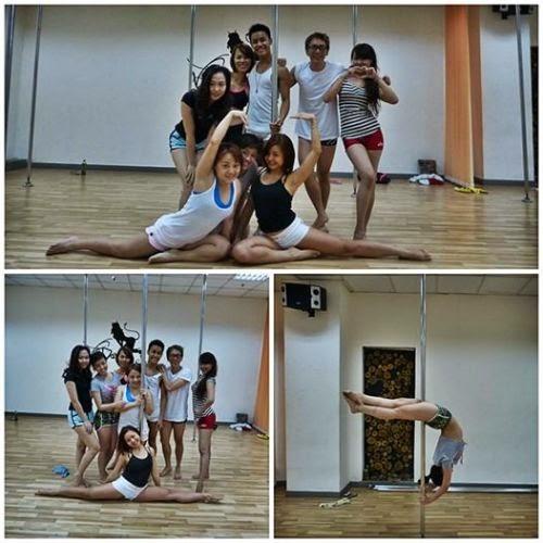Học Pole dance