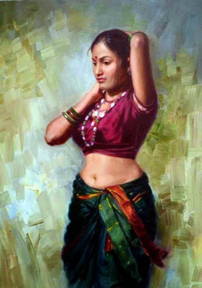 Индийский художник. Vilas Chormale