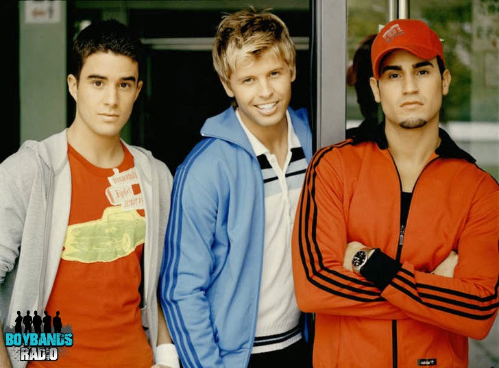 B3 was an American pop boy band from New York. They were formed in 2001. Listen to them on BoybandsRadio.