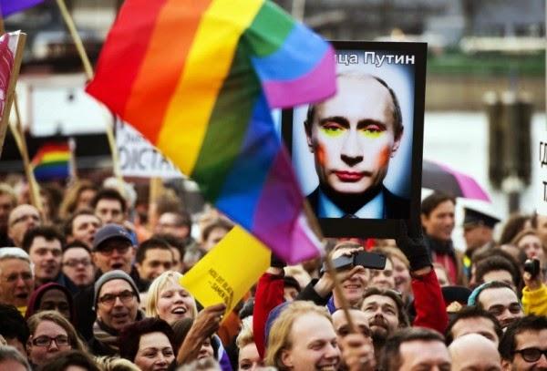 Разговор с путиным гомосексуализм