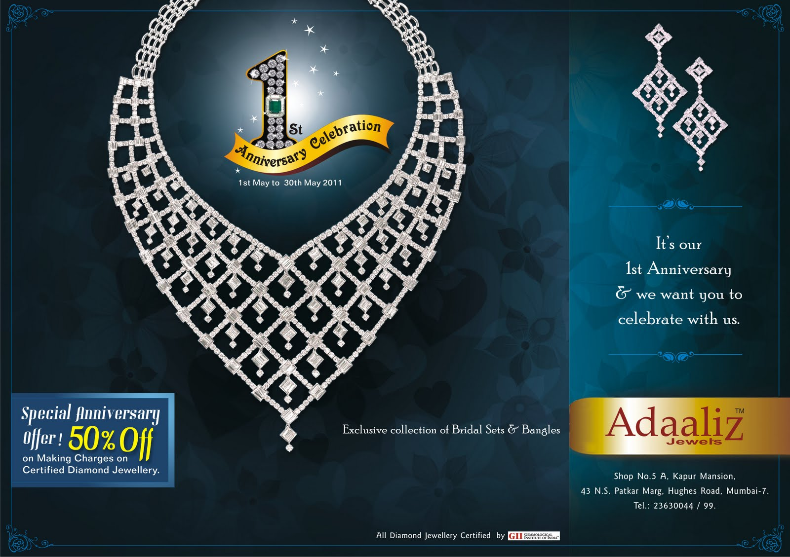 Welcome to satish s jewellery ad