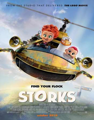 Poster Of Hollywood Film Watch Online Storks 2016 Full Movie Download Free Watch Online 300MB