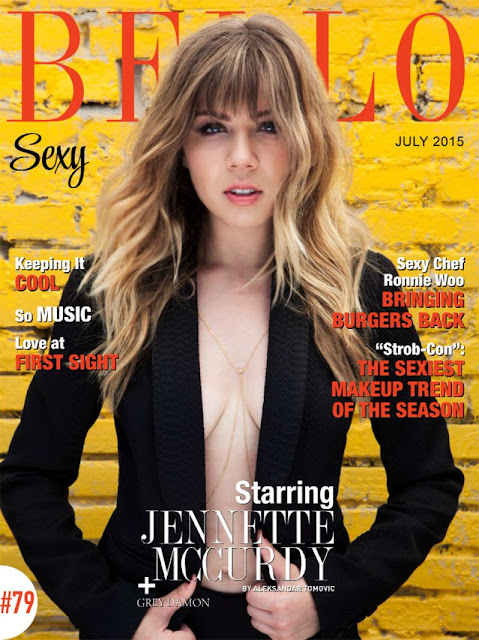 Actress, Singer @ Jennette Mccurdy Bello Magazine Sexy Edition July 2015