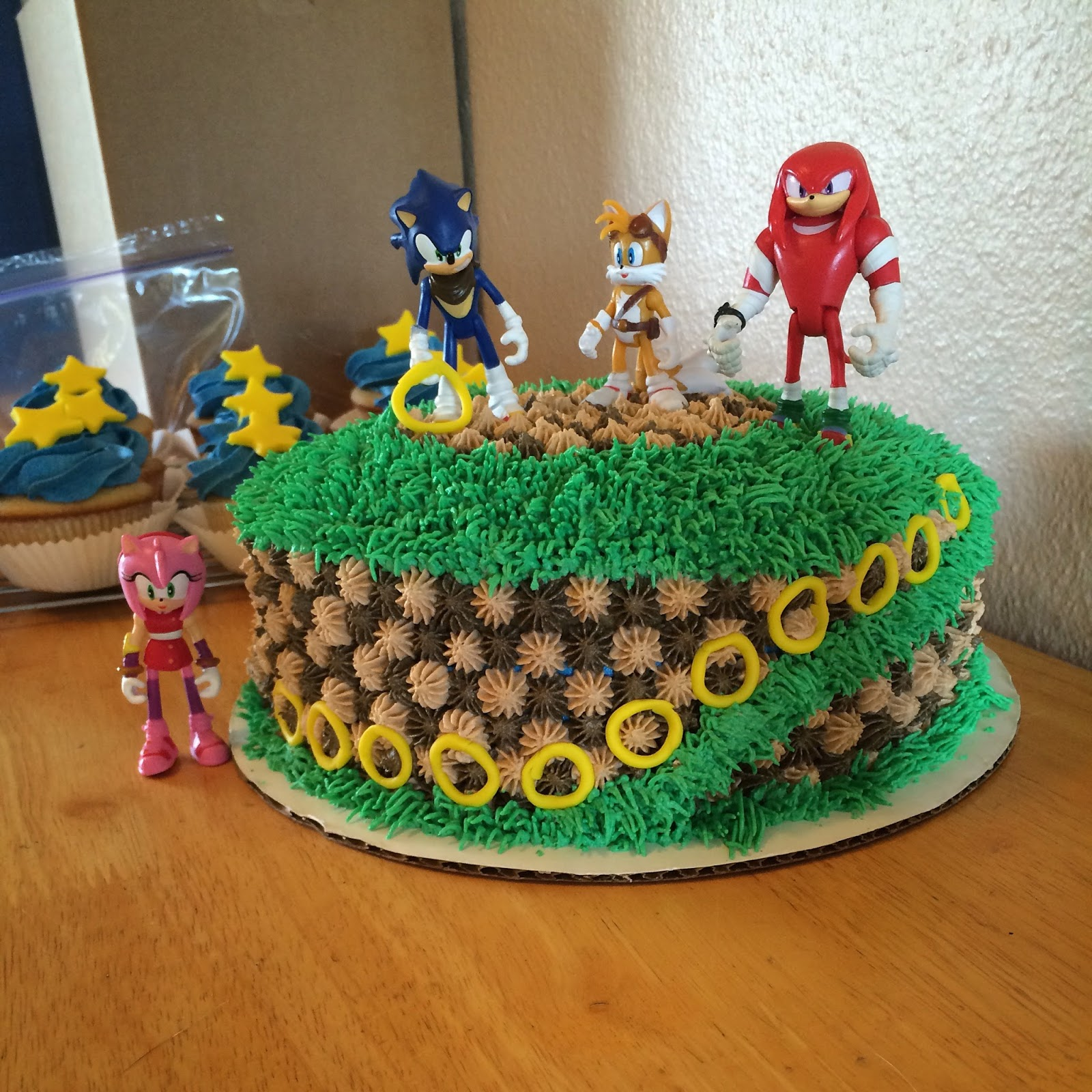 Corn on the Monkey: Sonic the Hedgehog birthday party