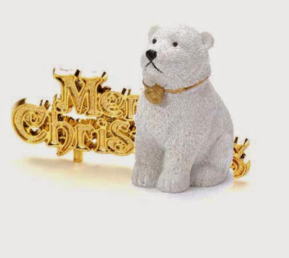 Polar Bear Cake Decoration