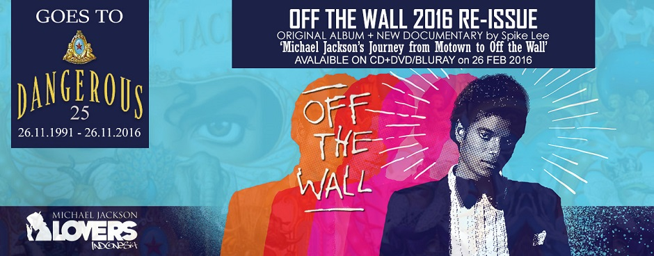MICHAEL JACKSON'S OFF THE WALL 2016 RE-ISSUE