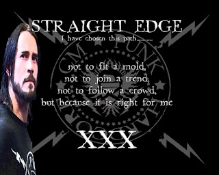 Девизом CM Punk'a является: I'm straight-edge and that means I'm better than you!