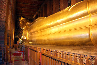 The Reclining Buddha in Bangkok (Thailand)