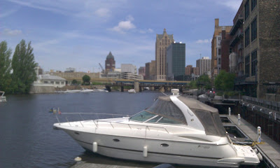 Milwaukee's river walk
