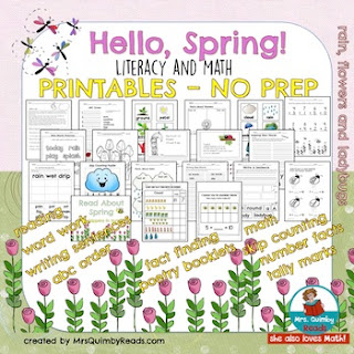 Literacy & Math for Spring
