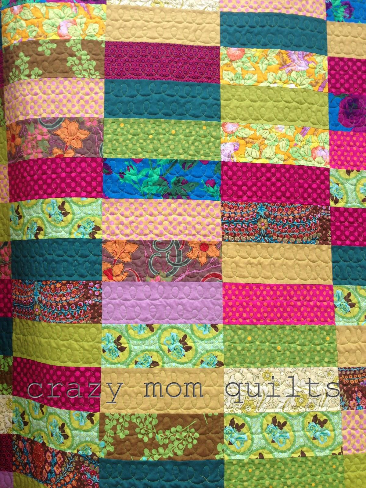crazy mom quilts: bohemian garden quilt : crazy mom quilts - Adamdwight.com