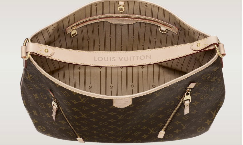 lv handbags lovers  louis vuitton delightful monogram canvas gm  u2013 m40354