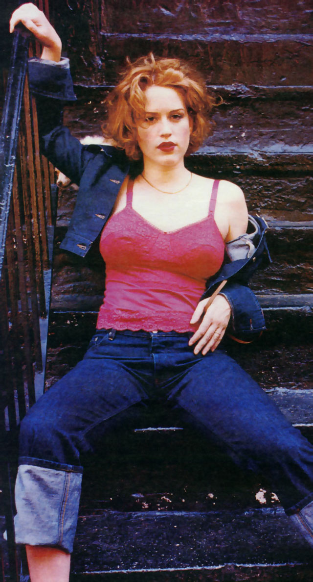 Celebrities Now And Then: Molly Ringwald