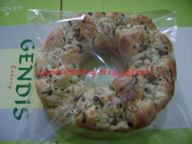 Roti Ring Topping Variasi Krumpul ~ gendis bakery