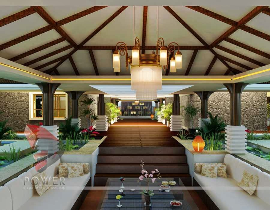 Lavish Interior Of Bungalow